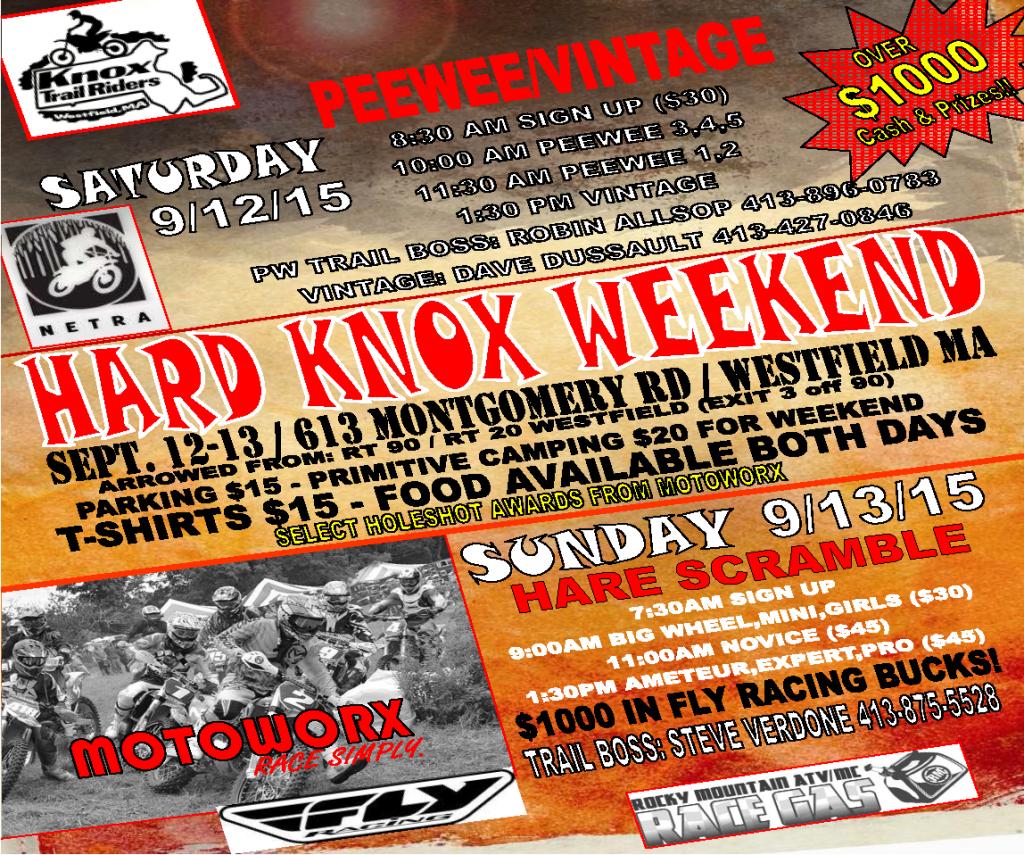 Hard Knox Pee Wee @ Westfield | Massachusetts | United States
