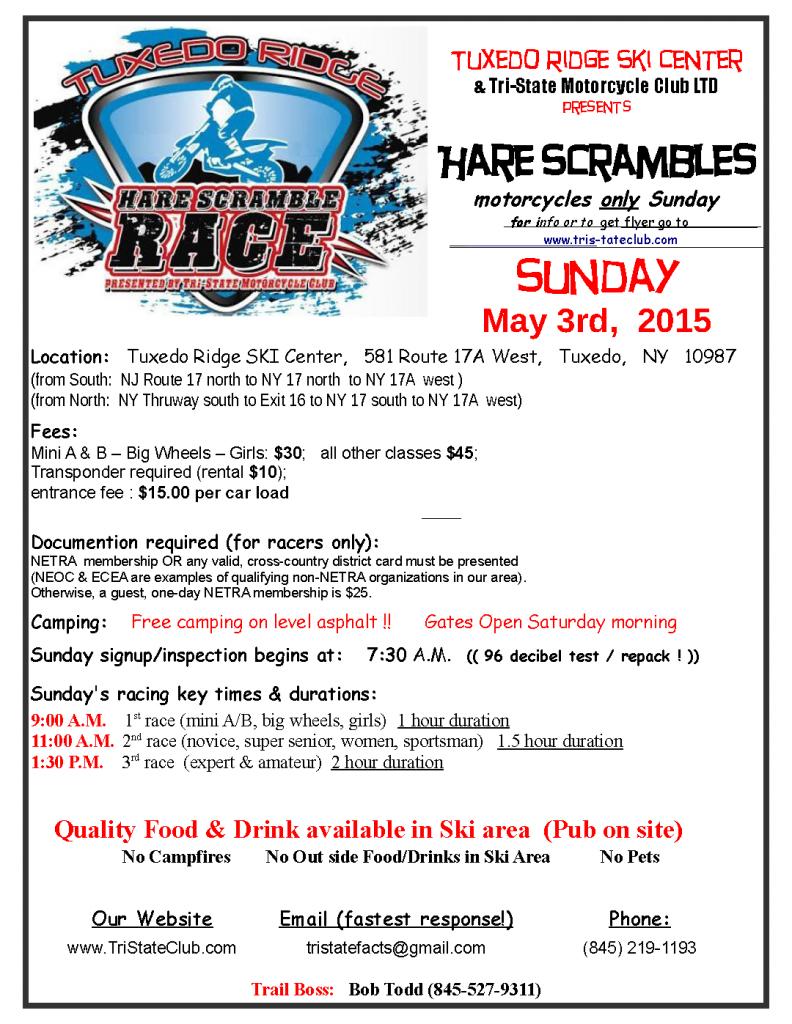 Tuxedo Ridge Hare Scrambles @ Tuxedo Ridge Ski Center   West Plains   Missouri   United States