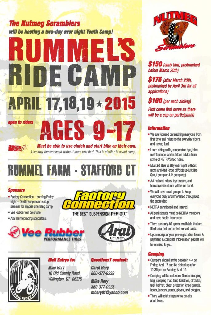Rummel's Youth Camp @ Rummel Farm | Stafford | Connecticut | United States