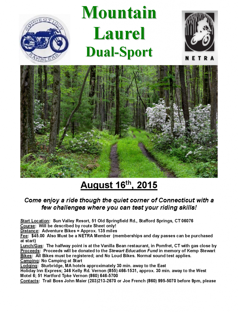 Laurel Mountain Dual Sport @ Sun Valley Resort | Stafford | Connecticut | United States