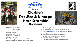 Clarkie's Pee Wee @ Clarkie's Farm | Freetown | Massachusetts | United States