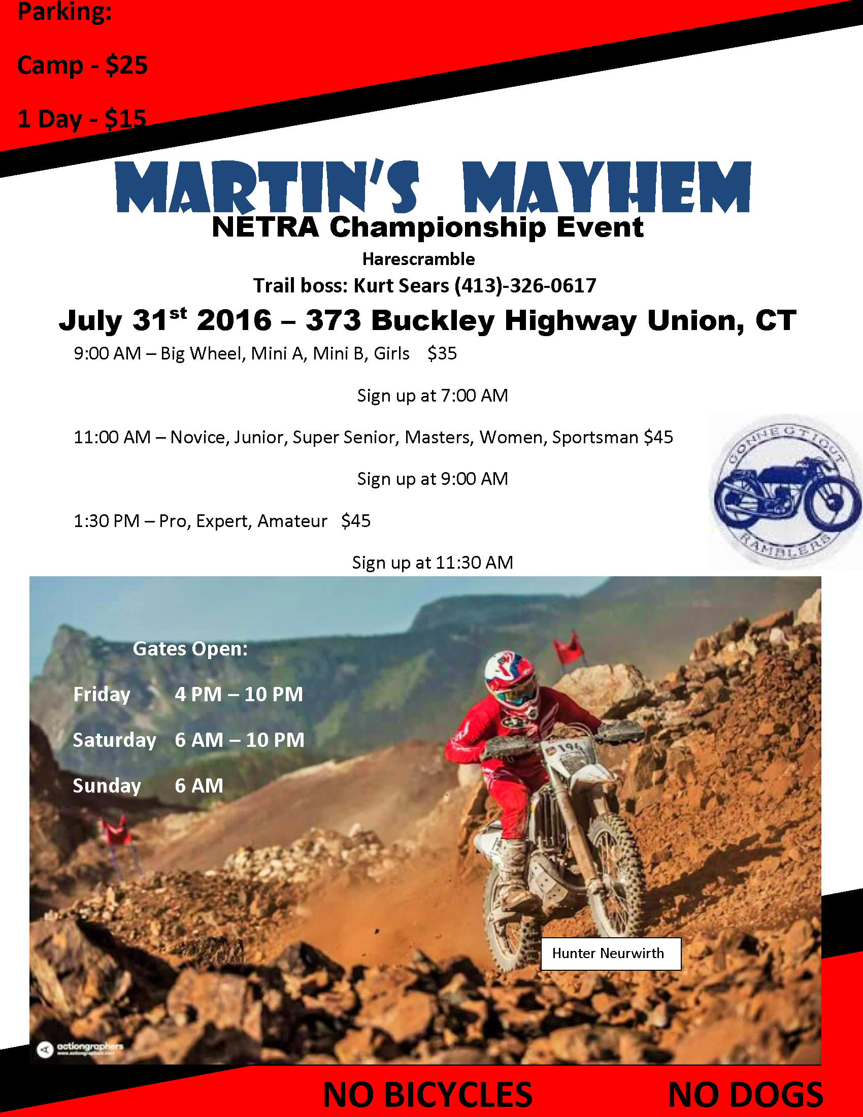 Martin's Mayhem Hare Scrambles @ Martin's Property | Stafford | Connecticut | United States