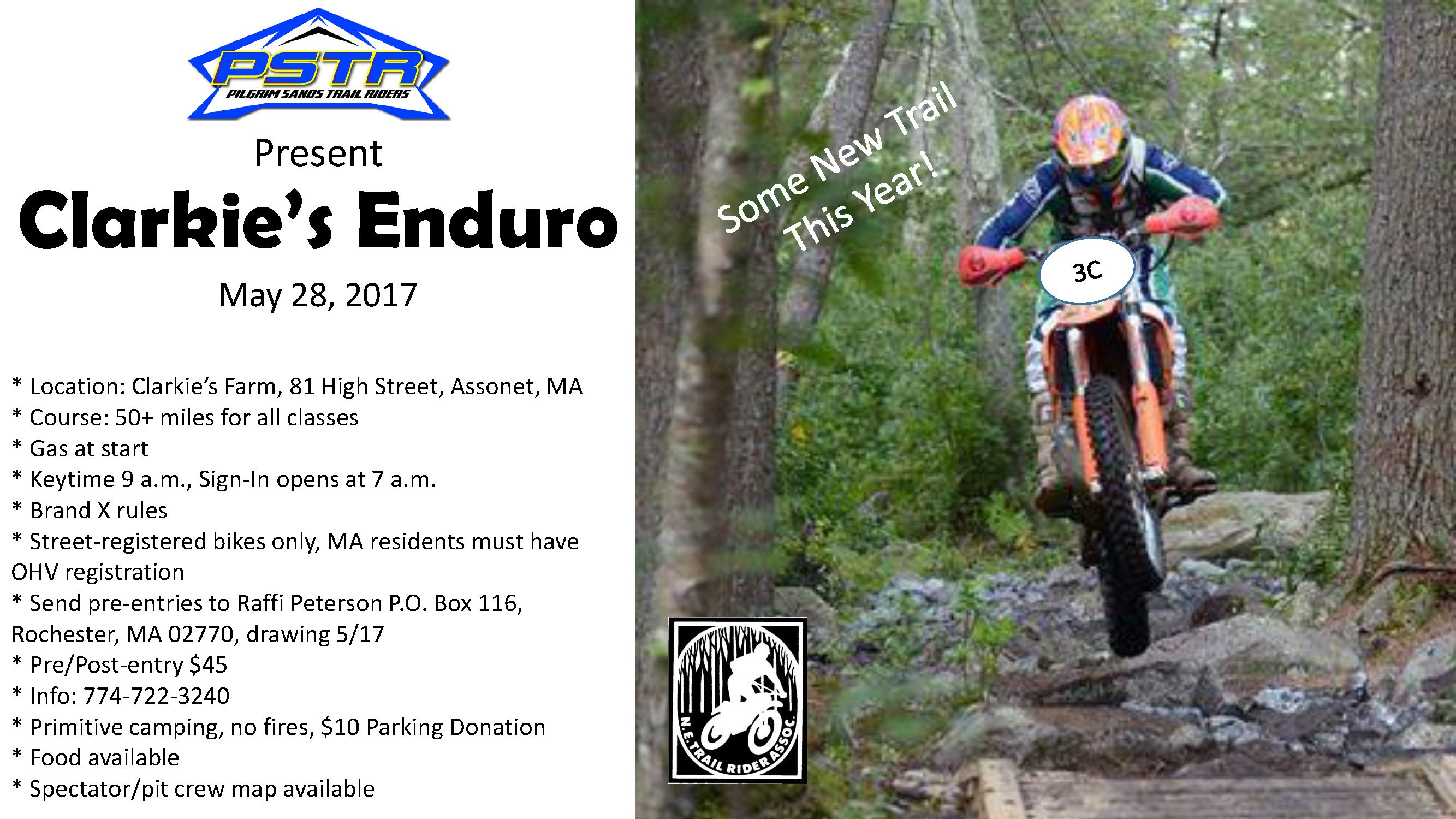Clarkie's Enduro @ Clarkie's Farm | Freetown | Massachusetts | United States