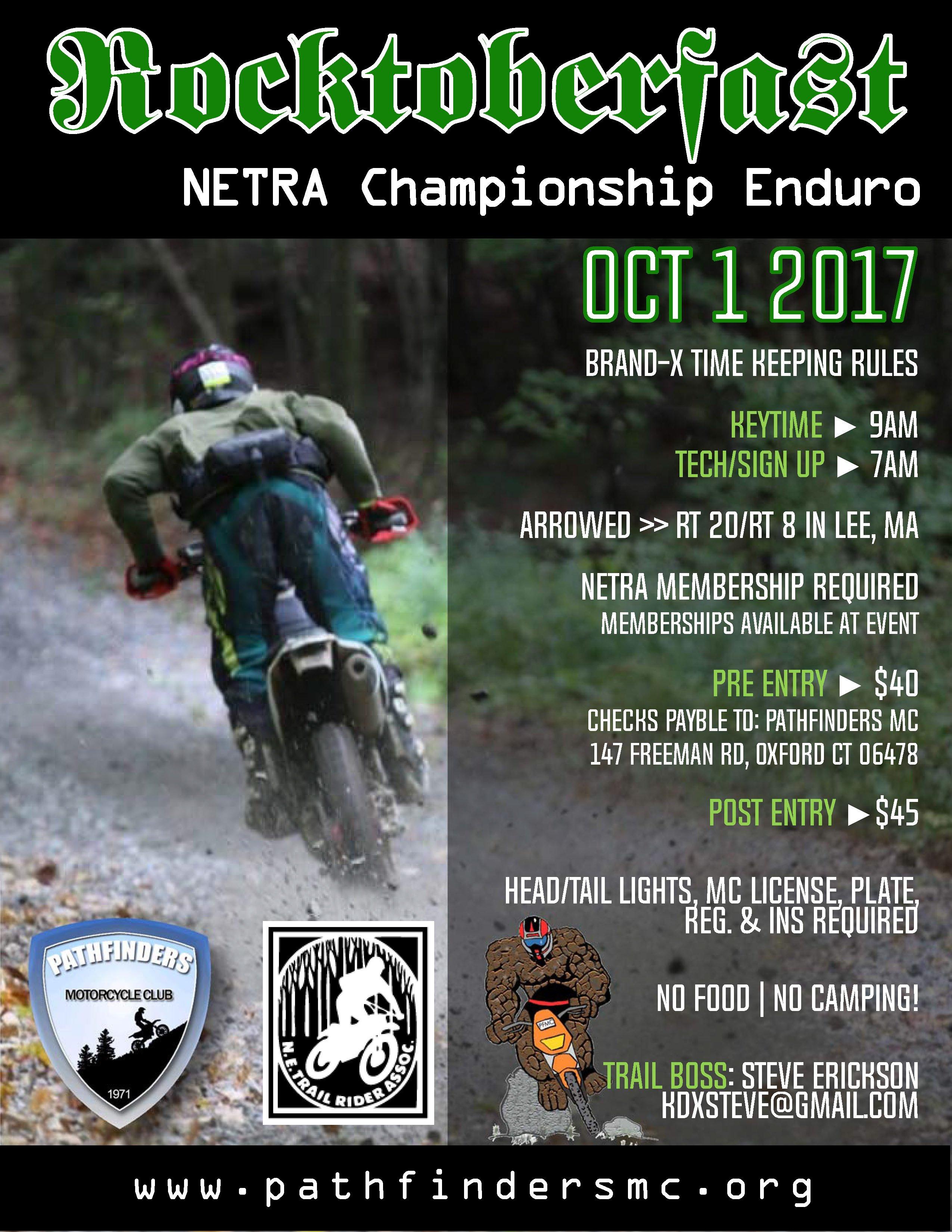 Rocktoberfast Enduro @ October Mountain State Forest | Lee | Massachusetts | United States