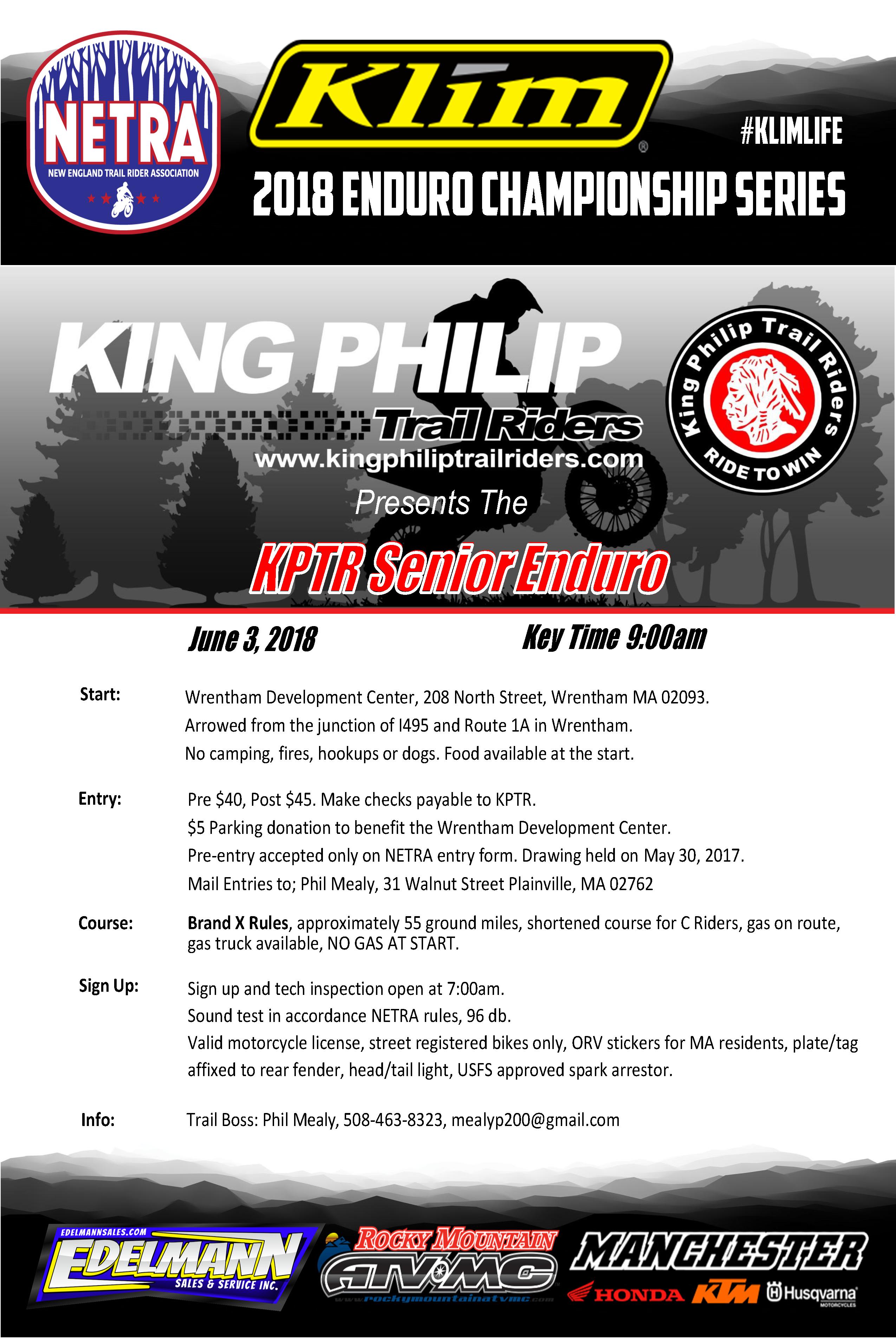 King Philip Enduro @ Wrentham | Massachusetts | United States