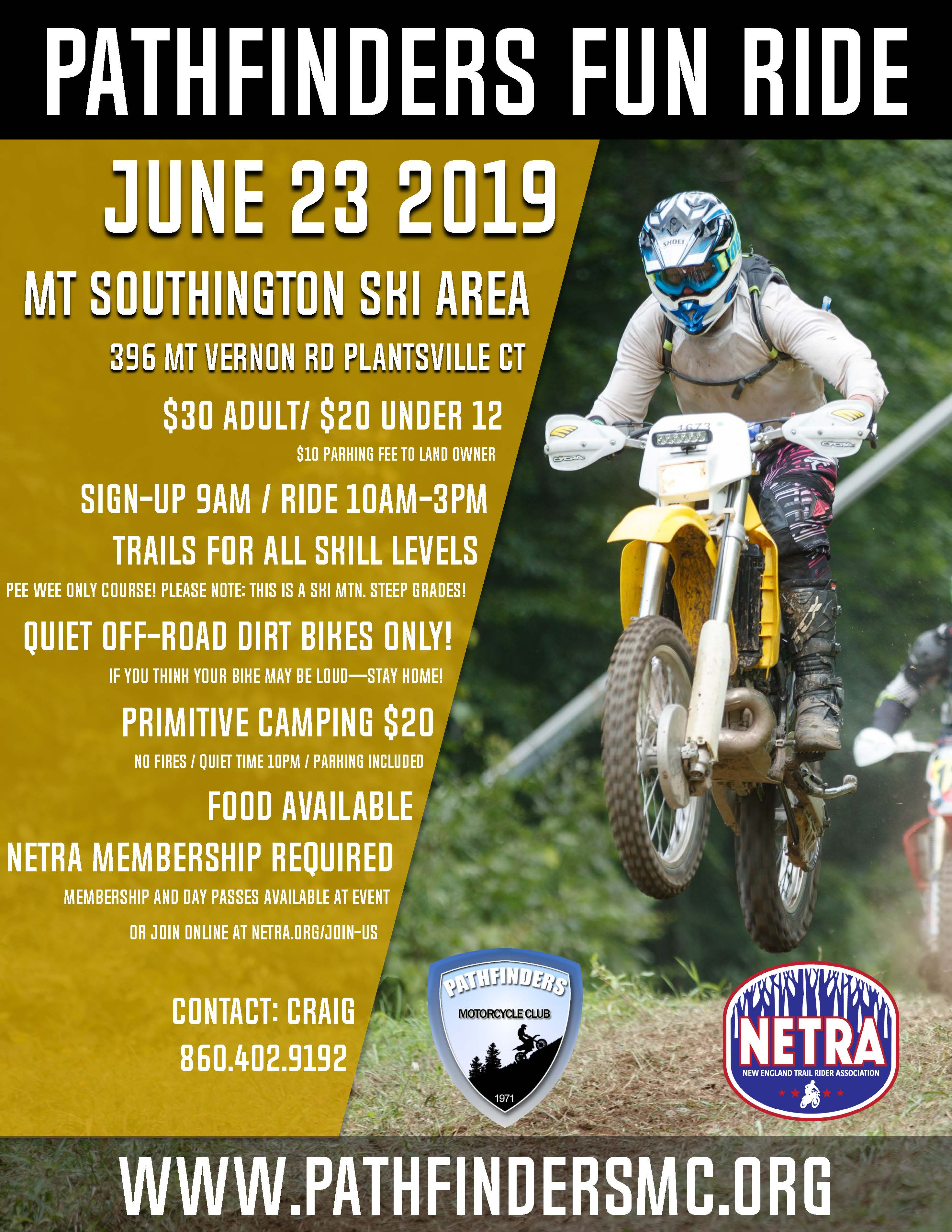 Pathfinder's Fun Ride @ Mount Southington Ski Area